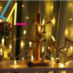 Vertical Bulb Led Lights String For Christmas Holiday Decoration