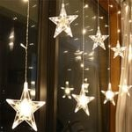 "Fairy Star String Led Lights  220V 86.6""  For Christmas Holiday Decoration"