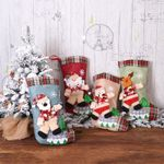 Christmas Stocking 15.7''x9.4'' Gift Bag For Home Decor