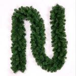 Artificial Christmas Unlit Garland Rattan 106.2'' For Home Decor