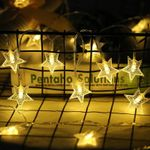 Romantic Fairy Star Lights String 20 Led For Christmas Holiday Decoration
