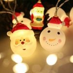 Red and White Santa Claus Led Fairy String Light For Christmas Holiday Decoration
