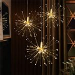 Outdoor Firework Solar Power Lights For Christmas Holiday Decoration