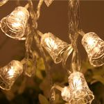 "Fairy Bell String Lights 47"" For Christmas Holiday Decoration"