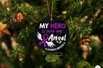 Alzheimer's Angel Acrylic Ornament Christmas Tree Decoration