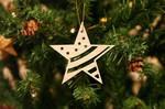 Stars & Stripes Ornament For Christmas Tree Decoration