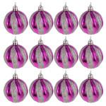 Christmas Ornaments Balls Tree 12Pcs Hanging For Christmas Holiday Decor
