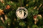 Bear Christmas Ornament Christmas Tree Decoration, Holiday Gift