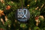 Prostate Cancer Awareness Christmas Ornament