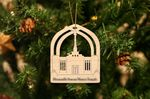 Hermosillo Sonora Mexico Temple Christmas Ornament