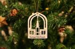 Santiago Chile Temple Christmas Ornament