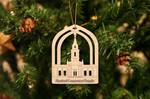 Hartford Connecticut Temple Christmas Ornament