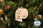 We Love You More Than Toilet Paper Wooden Ornament Christmas Tree Decoration