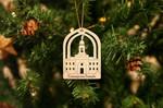 Concepcion Temple Christmas Ornament