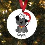 New Dog Gift Personalized Christmas Ornament