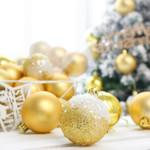Christmas Tree Balls 16Pcs Small Bauble Ornaments For Christmas Holiday Decor