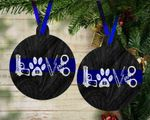 Christmas Ornament Gifts For Policeman