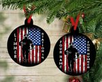 Personalized Fireman Ornament, Fireman Christmas, Holiday Ornaments, Christmas Ornament Gifts