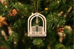 Seattle Washington Temple Christmas Ornament