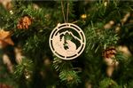 Beaver Gift Idea Wooden Ornament For Christmas Tree Decoration