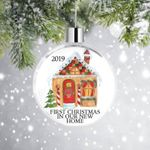 First Christmas On Our New Home Custom Year Ornament For Christmas Tree Decoration