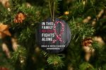 Head & Neck Cancer Awareness Christmas Ornament