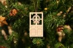 Door Gift Idea Wooden Ornament For Christmas Tree Decoration