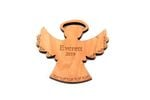 Angel Personalized Christmas Wooden Ornament