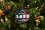 Home Is Where The Coast Guard Sends Us Christmas Ornament
