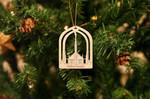 Dallas Temple Temple Christmas Ornament