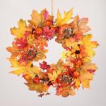 Artificial Thanksgiving Day Unlit Wreath Vine Ornaments For Home Decor