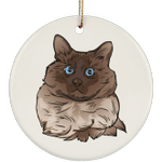 Balinese Cat Ornament Christmas Tree Ornaments Holiday Decor