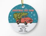 Christmas Tree Farm Ornament For Christmas Tree Decoration