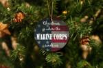 Christmas Is Where The Marine Corps Sends Us Christmas Ornament