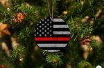 FireFighters Acrylic Ornament Christmas Tree Decoration