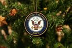 US Navy Christmas Acrylic Ornament For Tree Decoration