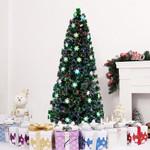 7FT Small Light Fiber Optic Artificial Christmas Tree 290 Tips with LEDs Light For Christmas Holiday