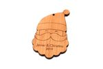 Santa Claus Personalized Christmas Wooden Ornament