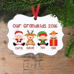 Personalized Grandkids Christmas Ornament Custom Christmas Ornament