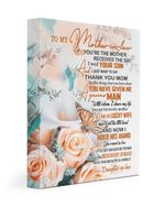 I Just Want To Say Thank You Mom Gift For Mother-in-law Matte Canvas Matte Canvas