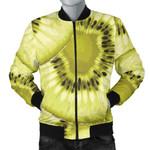 Sliced Yellow Kiwi 3D Printed Unisex Jacket