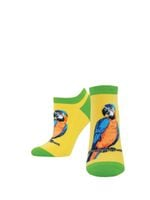 """Women's """"A-Parrot-Ly"""" Ped Socks Comfortable Funny Cute Unique Socks"""
