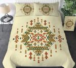 Native American Rhombus Pattern Printed Bedding Set Bedroom Decor