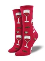 """Women's """"Time To Wine Down"""" Socks Comfortable Funny Cute Unique Socks"""