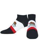 "Men's ""California Bear"" Ped Socks Comfortable Funny Cute Unique Socks"