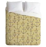Anchor Pattern  Printed Bedding Set Bedroom Decor