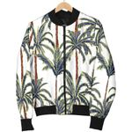Vintage Palm Tree Beach Pattern 3D Printed Unisex Jacket