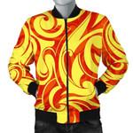Fire Flame Design Pattern 3D Printed Unisex Jacket