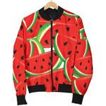 Cute Watermelon Pieces Pattern  3D Printed Unisex Jacket