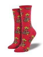 "Women's ""Sloth Bling"" Socks Comfortable Funny Cute Unique Socks"